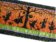 Halloween Quilted Runner or Hanging by Sieberdesigns on Etsy