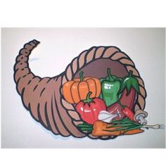 Printable Cornucopia Craft