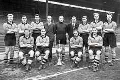 Wolverhampton Wanderers - League Champions 1954 manager Stan Cullis
