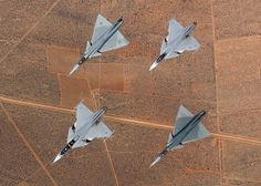 South African Air Force Cheetahs (outside) and Royal Swedish Air Force Saab JAS 39 Gripens (inner pair). Military Jets, Military Aircraft, Zeppelin, Modern Fighter Jets, Saab Jas 39 Gripen, South African Air Force, Delta Wing, Battle Rifle, Air Fighter