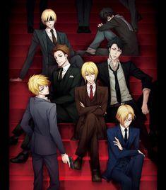 Sherlock Anime, Manga Anime, Evil Anime, Sebastian Moran, Sherlock Holmes 3, Patriots Team, James Moriarty, Dark Anime Guys, Avakin Life