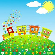 Train Illustrations and Clip Art. Train royalty free illustrations, drawings and graphics available to search from thousands of vector EPS clipart producers. Mazes For Kids Printable, Train Drawing, Train Illustration, Train Pictures, Bath Toys, Free Illustrations, Happy Kids, Thank You Cards, Kids Toys
