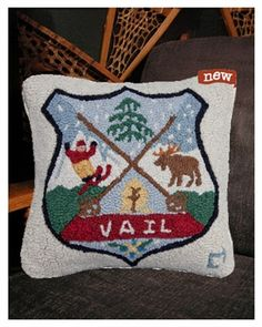 Another great ski pillow - VAIL