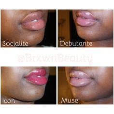 IMAN Alter Ego Lip Shimmers T - B: Socialite, Debutante, Icon & Muse