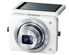 Canon reinvents the point-and-shoot with ambidextrous PowerShot N - Totally want this to chase around baby Ngo!