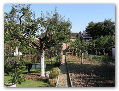 Edible Landscaping: fruit trees - garden | jardin potager | bauerngarten | köksträdgård