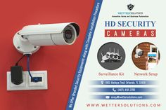 Now keep your office, commercial stores etc safe and secure with HD security cameras. You can connect these cameras to your mobile devices through various application/software.