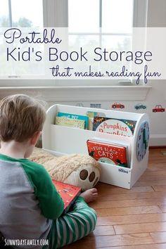 Portable Kidu0027s Book Storage that Makes Reading Fun & Circo™ Toy Rolling Cart with Paper Veneer - Grey @ Target - $39.99 ...