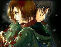 levi+and+mikasa | ... attack on titan, levi x mikasa, snk, levimika and shingeki no kyojin Rivamika love Levi x Mikasa Ackermans Shingeki No Kyojin Anime Attack on titan