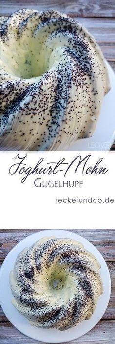 Joghurt-Mohn-Gugelhupf