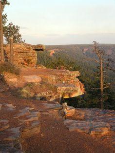 Mogollon Rim Escarpment, on the edge of the Colorado Plateau