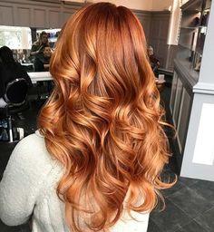 Copper Red Hair Color Idea