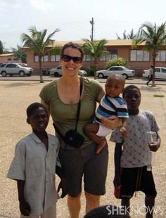 Moms with a cause: Sending dreams to Ghana