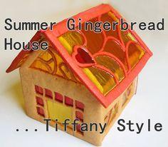 My Summer Gingerbread house - watch the video!!  https://www.youtube.com/user/BakingLoveKrisztina