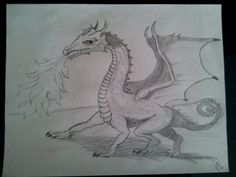 My second dragon! And favorite.