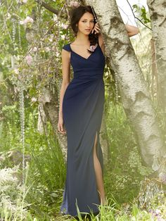 6ce796787c41c This stunning A-line Occasions by Jim Hjelm dress has a chiffon fabric with  a