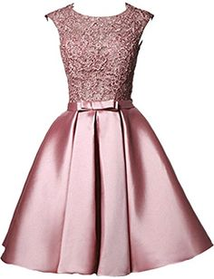 Dama Dresses, Cute Prom Dresses, Wedding Dresses For Girls, Pretty Dresses, Homecoming Dresses, Beautiful Dresses, Girls Dresses, Lace Dress Styles, Designer Party Dresses