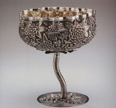 Lobed Stemmed Bowl-http://venetianred.net/tag/india/
