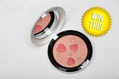 Giveaway at http://www.cosmeticsaficionado.com/giveaway-mac-flatter-me-face-powder/#comment-32539 to win a MAC Flatter Me Face Powder