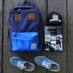 Explore yourself through somewhere around you...  (in photo, Backpack BLUE NAVY from @CubTravelers