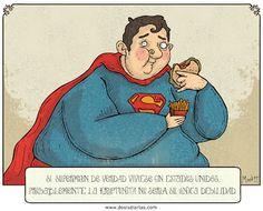 Si Superman viviese en EEUU la kriptonita no sería su única debilidad