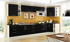 O micro-ondas na decoração da cozinha