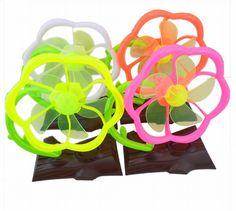 Stylish Flower Shape Mini Foldable USB Office Home Table Desk Durable Cool Fan
