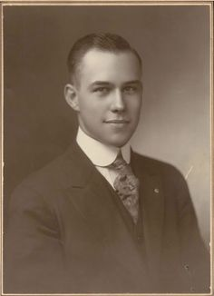 This lovely southern gentleman is Harry T. Burn; the man who was the deciding vote in passing the 19th amendment, giving women the right to vote on August 18, 1920.