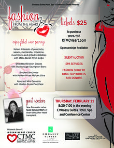 You don't want to miss this year's Fashion from the Heart event on February 11! #SMTX #FashionShow #HeartHealth