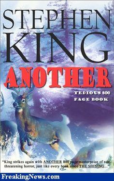 Stephen King Books | Stephen King Books Pictures - Strange Pics - Freaking News