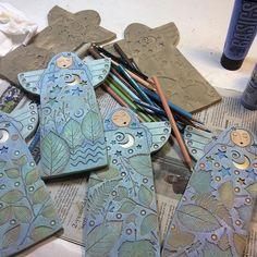 Союз живописи и керамики от Steve Vachon & Sue Davis - Ярмарка Мастеров - ручная работа, handmade