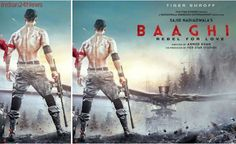 Baaghi 2 poster: Tiger Shroff reminds you of Hollywood action greats, see pic