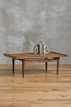Burnished Wood Coffee Table - anthropologie.com
