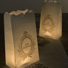 Weddingdeco.nl | Candle Bags - Overig - Deco