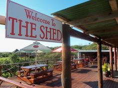 THE SHED on Benmore Farm- Kei Mouth, Eastern Cape,   Find more on our facebook page www.facebook.com/pages/The-Shed-at-Benmore-Lodge/162086021410 Cape, Shed, Facebook, Outdoor Decor, Home Decor, Mantle, Homemade Home Decor, Cabo, Backyard Sheds