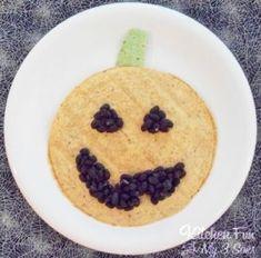 Halloween Jack-O-Latern Quesadilla