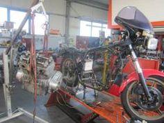 Work in progress: 1982 Laverda 1000 RGS