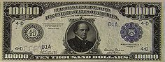 The American Government Should Reissue Big Dollar Bills to Help People Hide Money in the Mattress Thousand Dollar Bill, Hide Money, Templer, Thing 1, Old Coins, Interesting History, Before Us, Coin Collecting, World History