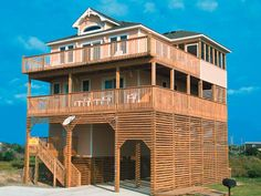Sandy Britches, 4 bedroom Ocean View home in Rodanthe, OBX, NC