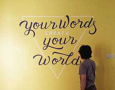 """Check out new work on my @Behance portfolio: """"Hand-Lettering Mural for Julia's House"""" http://be.net/gallery/63802755/Hand-Lettering-Mural-for-Julias-House"""