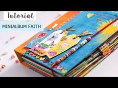 Tutorial Mini álbum Faith - espiral oculta - YouTube