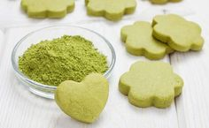 Gesunde Matcha-Kekse