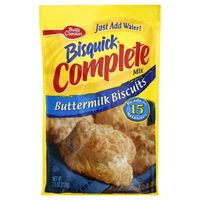 Betty Crocker Bisquick Buttermilk Biscuits: 2 grams trans fat per serving (1/3 cup mix)