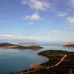 #balıkesir #ayvalık 2008 #şeytansofrası #landscape #panorama #egedenizi #view #aegeansea #mountida #bulut #blue #cunda #island