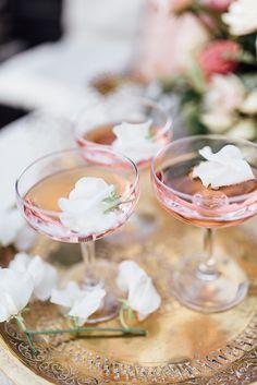 Romantic Stockholm Wedding Shoot at Hotel Kung Carl - Drinks   #wedding #coral #peaches #city #stockholm #stationary #bride #weddingflowers #beige #summerwedding