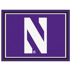 Ncaa - Northwestern University Purple 10 ft. x 8 ft. Indoor Rectangle Area Rug