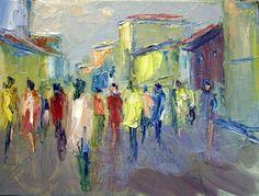 Gente di Milano cm 45x45 Cod M014