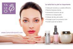 ***La Salud de Tu Piel es Importante *** ... #cuidados #salud #belleza #tratamientos #turnos y #consultas