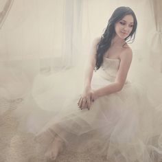 #wedding #photo #bride #bokeh #portrait