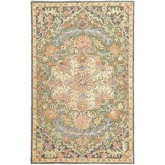 Canora Grey This Rug features great color and style. Hand-crafted of space-dyed wool in India, it offers traditional Bohemian design with a luxuriously looped pile for added texture to enhance any room setting. Rug Size: Rectangle x Wool Area Rugs, Beige Area Rugs, Wool Rug, Bohemian Design, Bohemian Rug, Traditional Area Rugs, Oriental Rug, Colorful Rugs, Rug Size